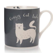 Load image into Gallery viewer, Cat Lady Bone China Mug