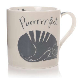 Purrrrfect Bone China Cat Mug