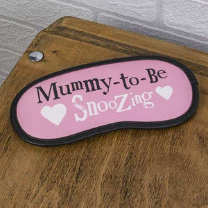 Fabric Snoozing Eye Mask For Expectant Mums