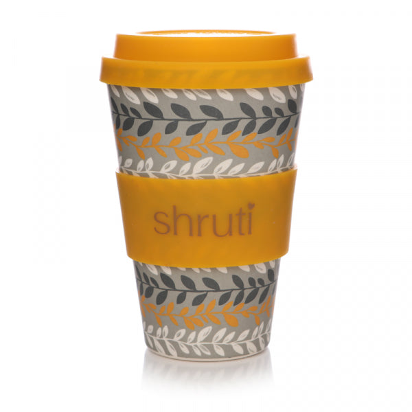 Fallen Leaves Bamboo Travel Mug