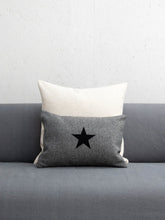 Load image into Gallery viewer, Oblong Felt Cushion Charcoal Grey