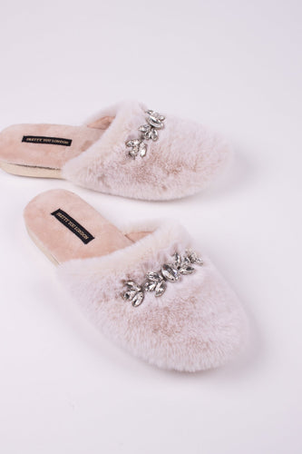 Pretty You London Dido Luxury Slipper