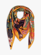 Load image into Gallery viewer, Toucan Satin Square Scarf