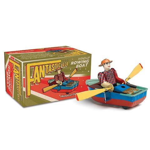 Collectable Tin Rowboat