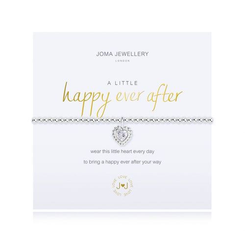 A Little Happy Ever After Silver Bracelet