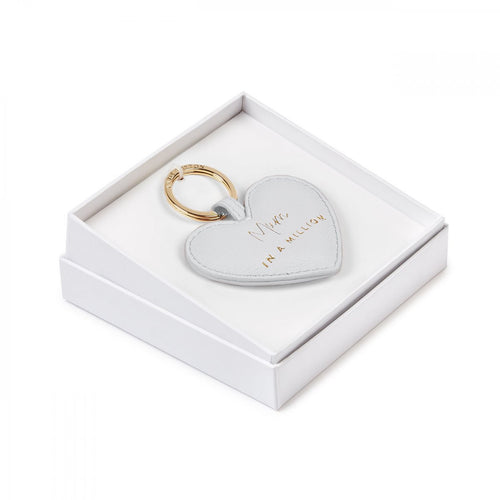 Boxed Mum In A Million Heart Key Ring