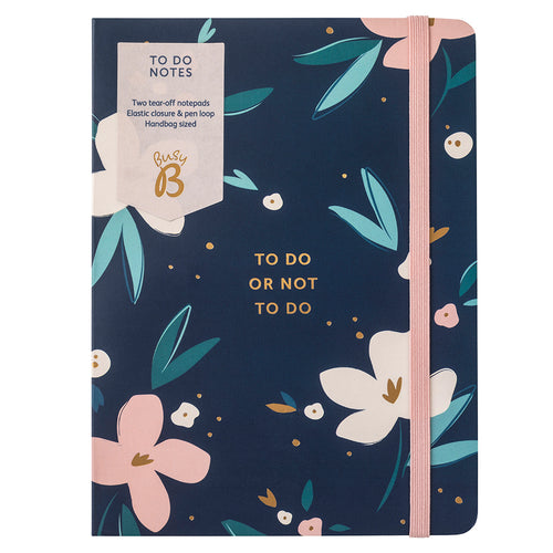 Pretty Petals To Do Notes Notebook