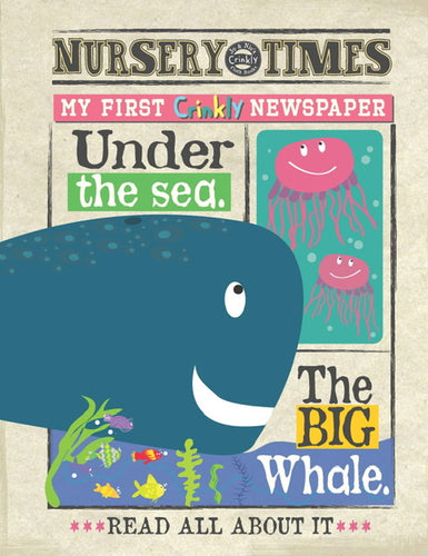 Jo & Nic's Crinkly Cloth Books Sealife