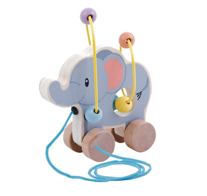 Studio Circus Elephant Bead Push Along