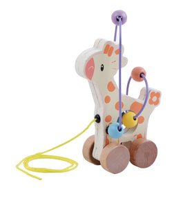 Studio Circus Giraffe Bead Push Along