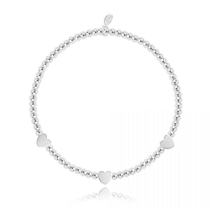 Joma Occasion Boxed With Love Silver Bracelet Stack
