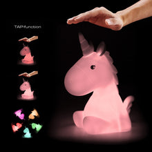 Load image into Gallery viewer, Pink Unicorn Medium Night Light