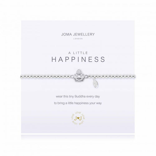 A Little Happiness Silver Bracelet