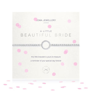 A Little Beautiful Bride Silver Bracelet