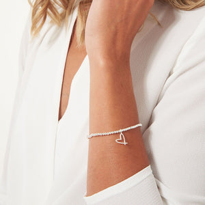 A Little With Love Silver Joma Bracelet