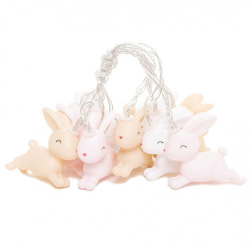 Dhink LED String Lights Jumping Bunny