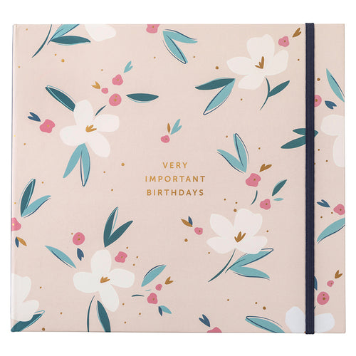 Pretty Petals Birthday Card Folder