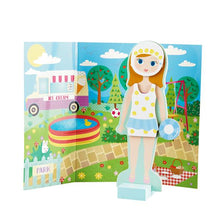 Load image into Gallery viewer, Elsie Wooden Magnetic Dress Up Doll