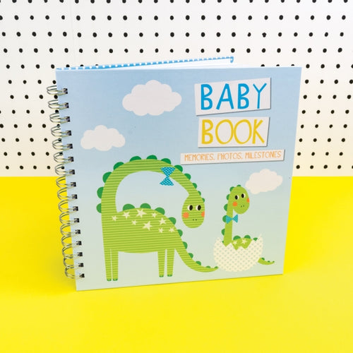 Tickle Baby Record Book Blue