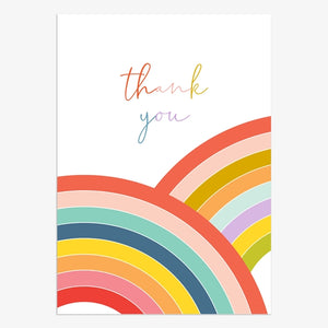 Boxed Thank You Cards Rainbow
