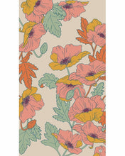 Load image into Gallery viewer, Summer Poppy Printed Scarf