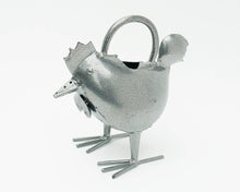Load image into Gallery viewer, Silver Hen Watering Can