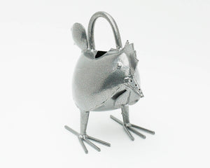 Silver Hen Watering Can