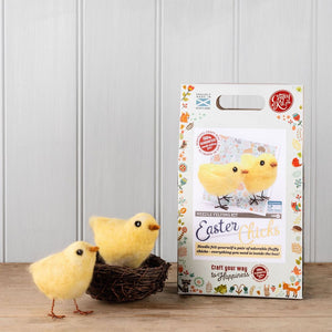 Chirpy Chicks Needle Felting Kit
