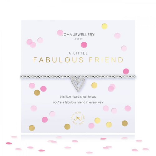 A Little Confetti Fabulous Friend Silver Joma Bracelet