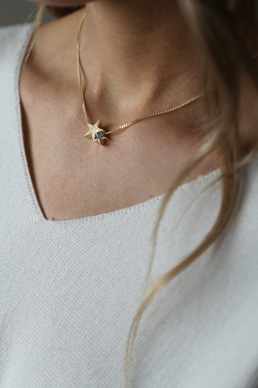 Starlight Gold Necklace