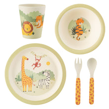 Load image into Gallery viewer, Savannah Safari Bamboo Tableware Set
