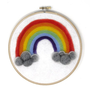 Rainbow Needle Felting Kit