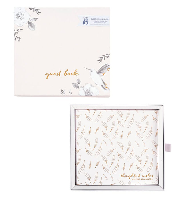 Keepsake Boxed Guest Message Cards