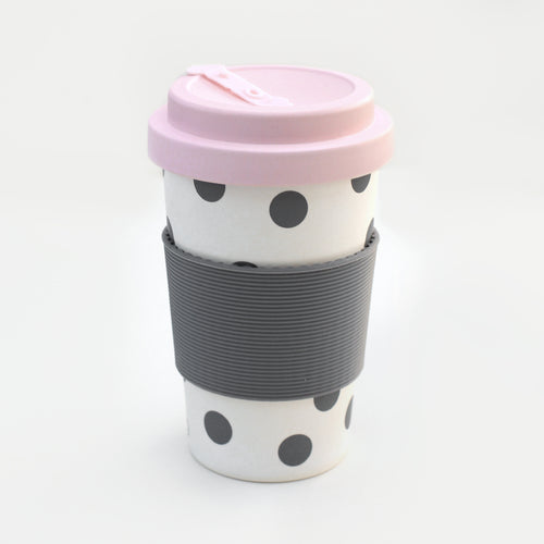Scattered Spot Eco Bamboo Coffee Cup