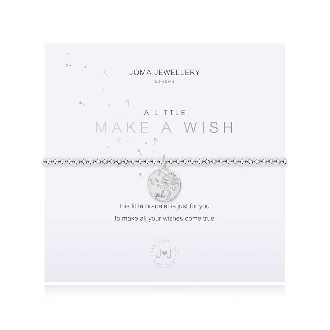 A Little Make A Wish Silver Bracelet