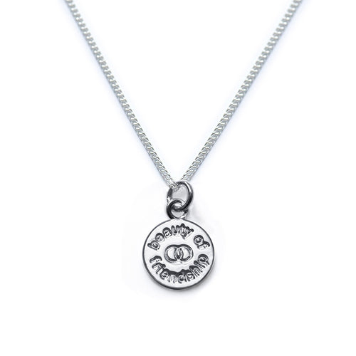 Beauty Of Friendship Sterling Silver Necklace
