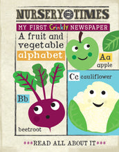 Load image into Gallery viewer, Jo & Nic's Crinkly Cloth Books Fruit & Veg