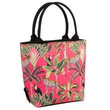 Load image into Gallery viewer, Beau & Elliot Madagascar Leopard Lunch Cooler Tote Bag