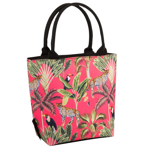 Beau & Elliot Madagascar Leopard Lunch Cooler Tote Bag
