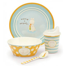 Load image into Gallery viewer, Nibbling Melamine Dinnerware Set