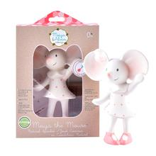 Load image into Gallery viewer, Meiya The Mouse Rubber Squeaker Toy