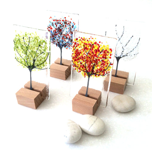 Handmade Glass Trees