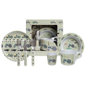 On The Farm Melamine Dinner Set