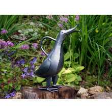 Load image into Gallery viewer, Silver Singing Duck Watering Can