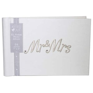 Mr & Mrs XL Pocket Photo Album