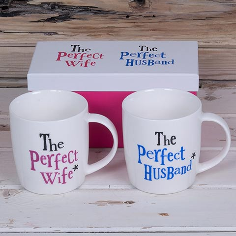 The Brightside Mr & Mrs Mugs