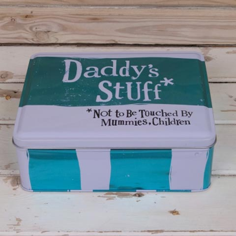 Daddy's Stuff Tin