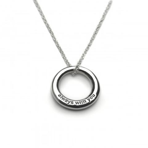 Always With You Silver Necklace