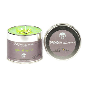 Potters Crouch Spiced Apple Candle Tin 250g