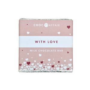 With Love Mini Chocolate Bar